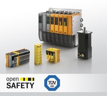 TÜV Süd bestätigt: Alle Sicherheitssteuerungen und sicheren I/O-Module von B&R sind konform zur europäischen Norm EN 50156.