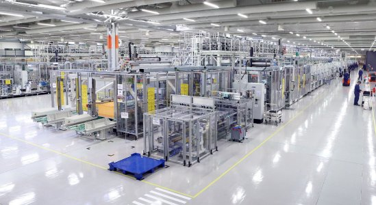 Valmet Automotive has completed the expansion of its Salo battery plant. In addition to 48-volt batteries, production of high-voltage batteries will start in 2021 / Image: Valmet Automotive