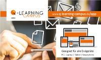 Der Q-LEARNING CAMPUS steht für alle Endgeräte bereit: Lernen zu hause, im Büro und unterwegs