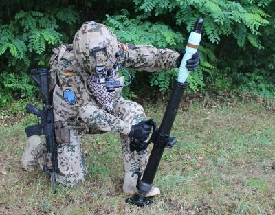 Two in one - Rheinmetall's new 60mm mortar for infantry and special forces