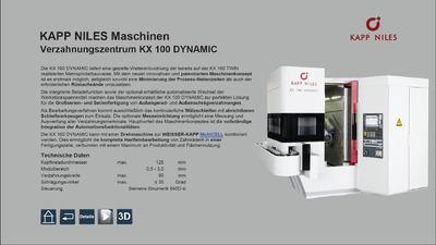 Auszug Interaktive Touchscreen-Präsentation, Fma. KAPP-NILES