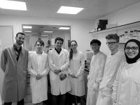 The iGEM team, the University of Manchester with our applications specialist Oliver Carney