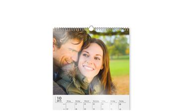 Wall calendars with own pictures