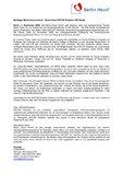 [PDF] Pressemitteilung: Wichtiger Meilenstein erreicht - Berlin Heart EXCOR Pediatric IDE-Studie