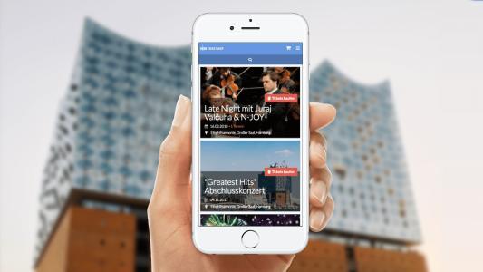 Elbphilharmonie-Tickets im NDR Ticketshop