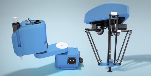 Die Exzentergetriebe von Nabtesco eignen sich besonders für Delta- und Scara-Roboter sowie andere Handling-Applikationen oder Positioniersysteme