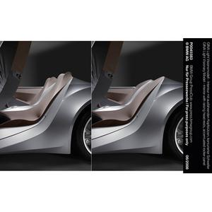 GINA Light Visionary Model - interior with raising head rests, accentuated rocker panel