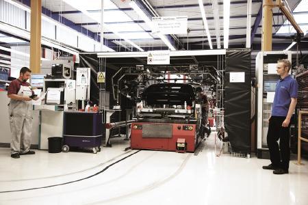 End-of-Line Prüfung mit dem ELAM-System