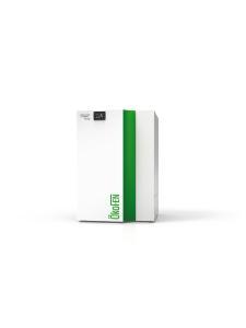 BU: Die Pellematic Condens wird mit 22, 25, 28 und 32 kW erhältlich sein und ist damit auch für den Einsatz in Mehrfamilienhäusern sowie gewerblichen oder kommunalen Einrichtungen geeignet. Bild: ÖkoFEN