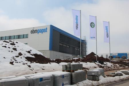 Eröffneter erster Bauabschnitt im Gewerbegebiet St. Georgen-Hagenmoos