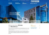 Startseite der neuen Corporate-Website www.tampoprint.de