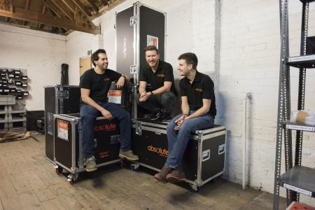 The team at Absolute Motion Control with Rob Raskovsky (on the left) / Picture: © James Delaney