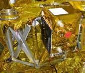 TET-1 integriert auf der Raketenoberstufe