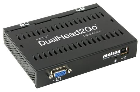 Matrox DualHead2Go Digital Edition - front