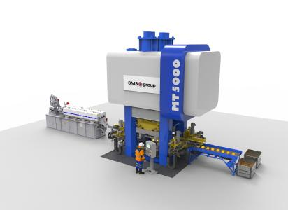 SMS group to supply 5,000-ton MT 5000 eccentric press to Musashi Europe