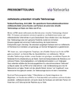 [PDF] Pressemitteilung: vioNetworks präsentiert virtuelle Telefonanlage