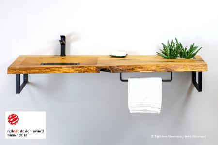 Der Waschtisch CONE INVI von Heiko Neumann hat den Red Dot Design Award 2018 bekommen