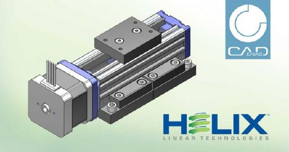 3D CAD models from Helix Linear Technologies go online with interactive product catalog built by CADENAS