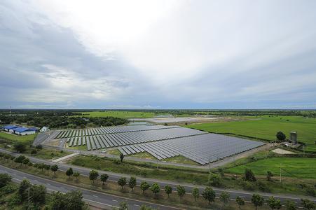 Kyocera Solar 34 Freiflächenanlagen in Thailand