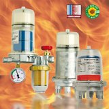 Product family fuel oil de-aerators