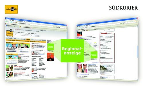 meinestadt.de und suedkurier.de bieten Unternehmen Regionalanzeigen- Kombipaket an