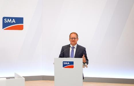 Juergen Reinert, CEO SMA