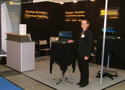 Messestand LPScocoon