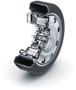 """Das """"E-Wheel Drive"""" von Schaeffler - eine optimale Lösung für die Mobilität von morgen (Bild: Schaeffler)"""