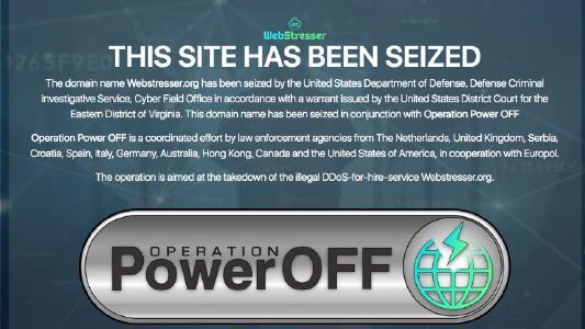 Die Cybercrime-Plattform Webstresser.org ist seit dem 24. April 2018 offline