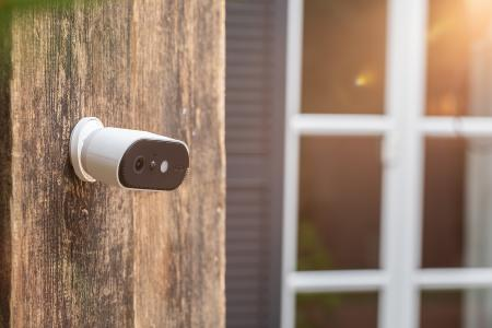 """Die ABUS WLAN Akku Cam erhielt das Plus X Award-Siegel """"Bestes Produkt des Jahres 2020"""" in der Produktgattung """"Überwachungssysteme"""" / © ABUS"""