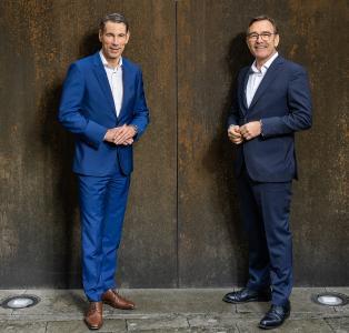 BayBG-Geschäftsführung: Peter Pauli (Sprecher) und Peter Herreiner