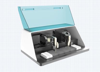 Das neue Mikrotiter-Scansystem von Steinmeyer Mechatronik wurde speziell für die schnelle und präzise Analyse von Mikrotiterplatten entwickelt