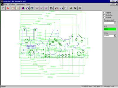 Grafische Darstellung von Genauigkeit: Der LaserQC macht die Erstkontrolle von Teilen schnell und leicht
