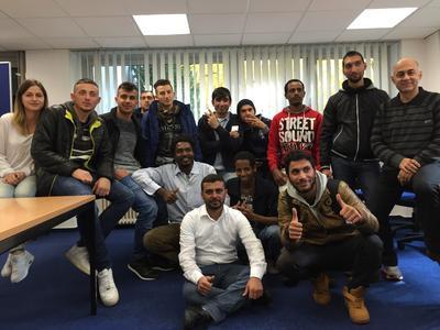 Kostenlose Deutschkurse für Flüchtlinge bei WBS Training