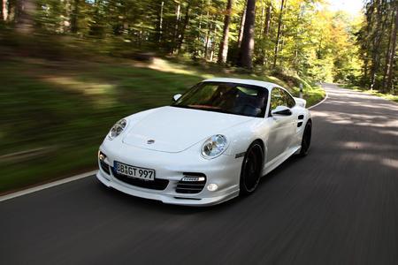 TECHART power kit for the Porsche 911 Turbo