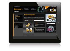 The Product Information Center (PIC) is also currently being redone to integrate seamlessly with the design and user-friendliness of the new website (Photo: ContiTech)
