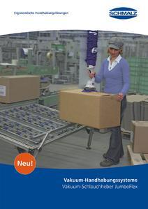 Die neue Broschüre Vakuum-Schlauchheber JumboFlex