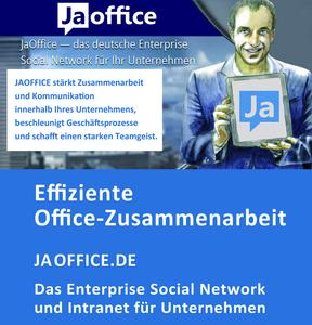 JaOffice enterprise social network Intranet Portal Teaser