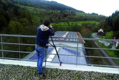 Dreharbeiten Farenski Rempp Dach