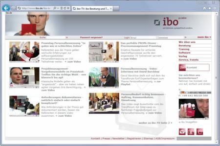 Startseite ibo-TV