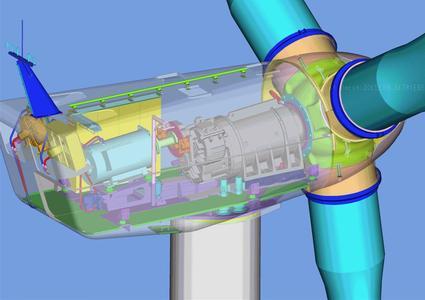 Stall- regulated 1.3 MW WTG