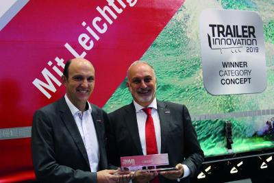 Kögel NOVUM generation wins the Trailer Innovation 2019 award