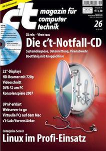 c't-Ausgabe 26/2007