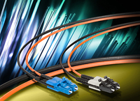 Cabling technology for the construction of optical networks