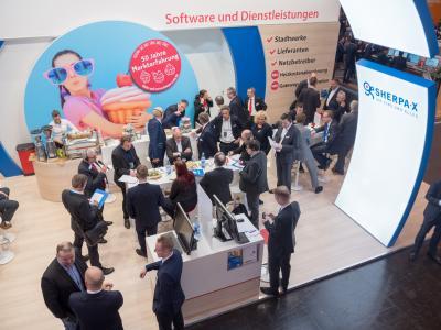 Großes Interesse an der White-Label-Lösung für Heizkostenabrechnung bei der E-world 2019