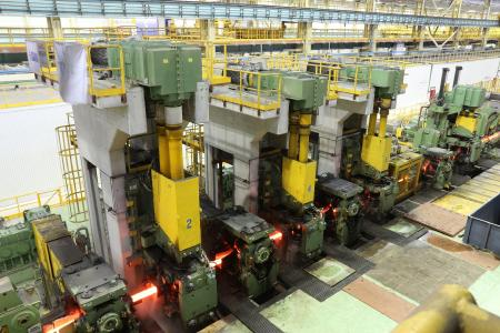 The new merchant bar mill supplied by SMS group will consist of 16 total stands, including five dual-drive convertible stands