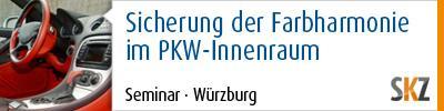 Sicherung der Farbharmonie im PKW-Innenraum