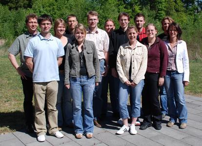 Die E-Health-Projektgruppe des Studiengangs Medizinisches Informationsmanagement