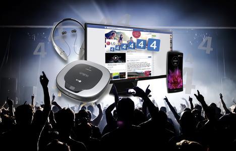 LG 444.444 Facebook Fans Gewinnspiel