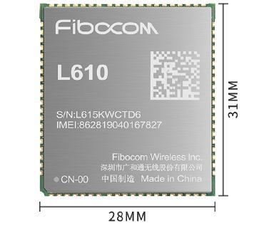 L610 LTE Cat.1 Modul für IoT Anwendungen
